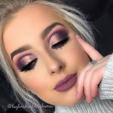 cut fold dramatic eye makeup eyes