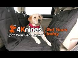dog split rear seat cover with hammock