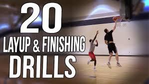20 basketball layup finishing drills