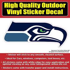 Seattle Seahawks Football Vinyl Car Window Laptop Bumper Sticker Decal Colorado Sticker