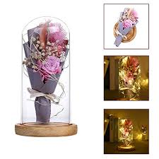 redsa beauty and the beast rose bouquet