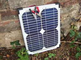 Solar Panel Deluxe 12 V Battery Charger 15 Watt Horse Electric Fence Ebay