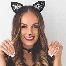 cat face paint makeup