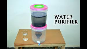 how to make a water filter with