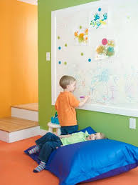 Upgrade Your Starter Home Playroom Whiteboard Wall Kids Playroom