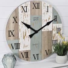 blue wall clocks clocks the home