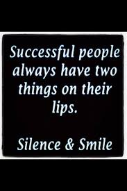 silence and a smile words success quotes lovers quotes