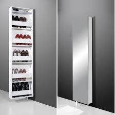 igma mirrored rotating shoe storage