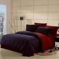 dark blue and claret red solid pure