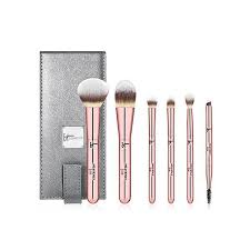 best travel friendly makeup brush sets