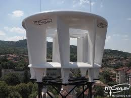 vertical axis wind turbine prototype