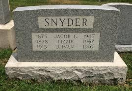 J. Ivan Snyder (1913-1916) - Find A Grave Memorial