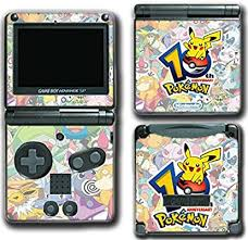 Amazon Com Pokemon 10th Anniversary Go Pikachu Pokeball Jigglypuff Video Game Vinyl Decal Skin Sticker Cover For Nintendo Gba Sp Gameboy Advance System Video Games