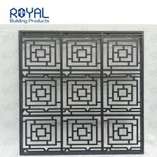 China Modern Powder Coated Laser Cut Gates Aluminum Fence Design China Aluminum And Customized Price