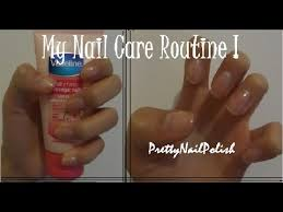 my nail care routine the secret to