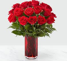 true romantic red rose bouquet in