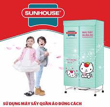 Review máy sấy quần áo Sunhouse SHD2702: Giá bán, Ưu nhược điểm