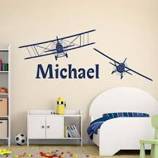 Boy Name Wall Decal Personalized Name From Fabwalldecals On Etsy