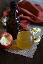 apple ginger kombucha