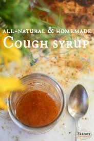 homemade cough syrup recipe the