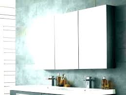 lighting white bathroom mirror
