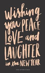 peace love laughter new year wishes quotes about new year