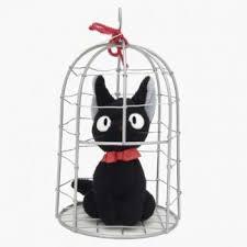 Kiki S Delivery Service Jiji In Cage By Studio Ghibli Miyazaki Fan Shop