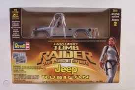 4x4 Jeep Rubicon Lara Croft Tomb Raider Revell 1 25 Model Off Road Diecast Body 407204759