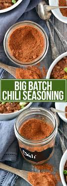 big batch homemade chili seasoning
