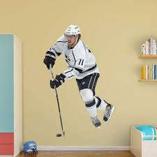 Fathead Nhl Los Angeles Kings Anze Kopitar No 11 Wall Decal Walmart Com Walmart Com