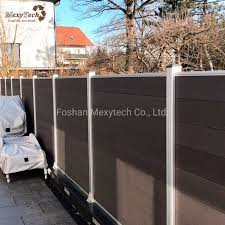 China Anti Termite Composite Garden Fence With Door China Fence And Garden Fence Price