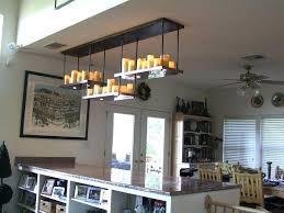 pillar candle chandelier diy faux