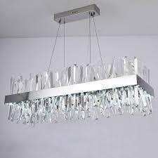 gorgeous rectangular pendant chandelier