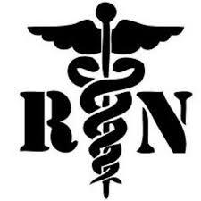 Nurse Rn Logo Decal Car Window Sticker Vinyl Pick The Size Color 4 00 Picclick