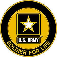 Amazon Com Military Vet Shop Magnet Us Army Soldier For Life Vinyl Magnet Car Fridge Locker Metal Decal 3 8 Automotive