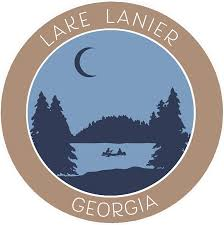 Amazon Com Lake Lanier Georgia Crescent Moon Boat Vinyl Printed Die Cut Decorative Auto Decal Sticker Lake Life Adventure Souvenir Vacation Series