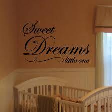 Sweet Dreams Little One Decal Wall Vinyl Sticker Family Kids Etsy