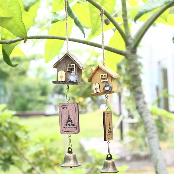 """Image result for wooden wind chimes in house"""",nari"""