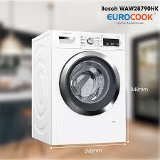 Máy giặt Bosch WAW28790HK hiện đại, tiết kiệm năng lượng hiệu quả
