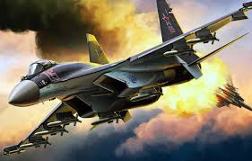 su 35 dogfight sukhoi flanker Е
