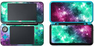 Amazon Com Uushop Protective Vinyl Skin Sticker Cover Wrap For New Nintendo 2ds Xl Ll Stars Computers Accessories