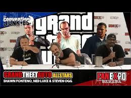 Grand Theft Auto's Shawn Fonteno, Ned Luke & Steven Ogg Fan Expo Canada  2018 - YouTube