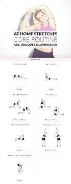 core static stretching exercises ab