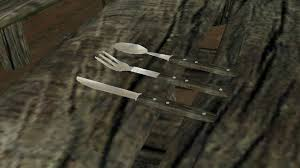 vanilla wood cutlery replacer at