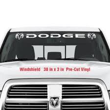 Product Dodge Windshield Vinyl Decal Sticker Graphic Decals Truck Ram Hemi Logo