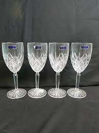 marquis waterford crystal wine glasses