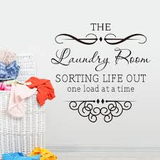 Laundry Room Rules Quote Wall Decal 8377 Decorative Vinyl Wall Sticker Vinyl Funny Wallpaper Quote Wall Decal Laundry Roomwall Decals Aliexpress