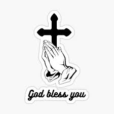 Bless You Stickers Redbubble