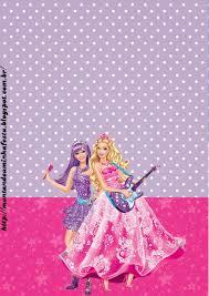 Barbie Moda Y Magia Y Barbie Rock Star Imprimibles Y Tarjetas O