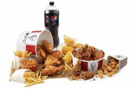 kfc is now doing a double bucket and